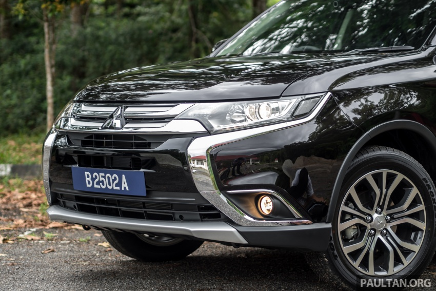 Mitsubishi Outlander 2.0 AWD CKD debuts – RM140k Image #709621