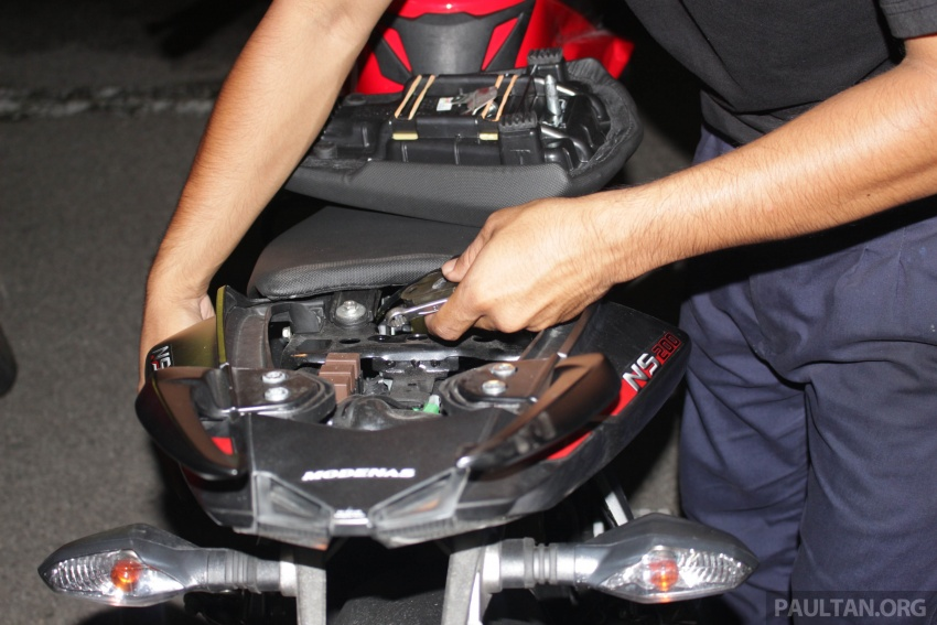 Modenas conducts motorcycle ownership survey Image #710178
