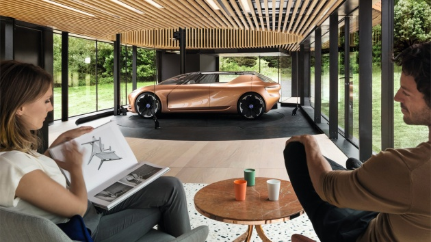 Renault Symbioz Concept A Car And House Combo