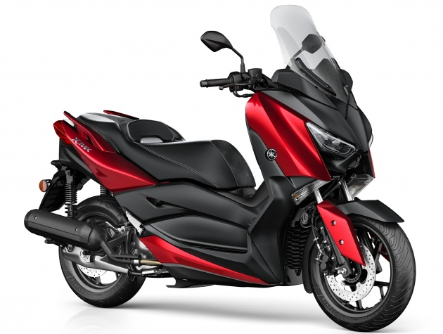 2018 yamaha x max 125 scooter released in europe. Black Bedroom Furniture Sets. Home Design Ideas
