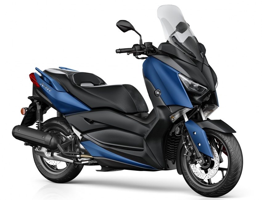 2018 Yamaha X-Max 125 scooter released in Europe Image #709928