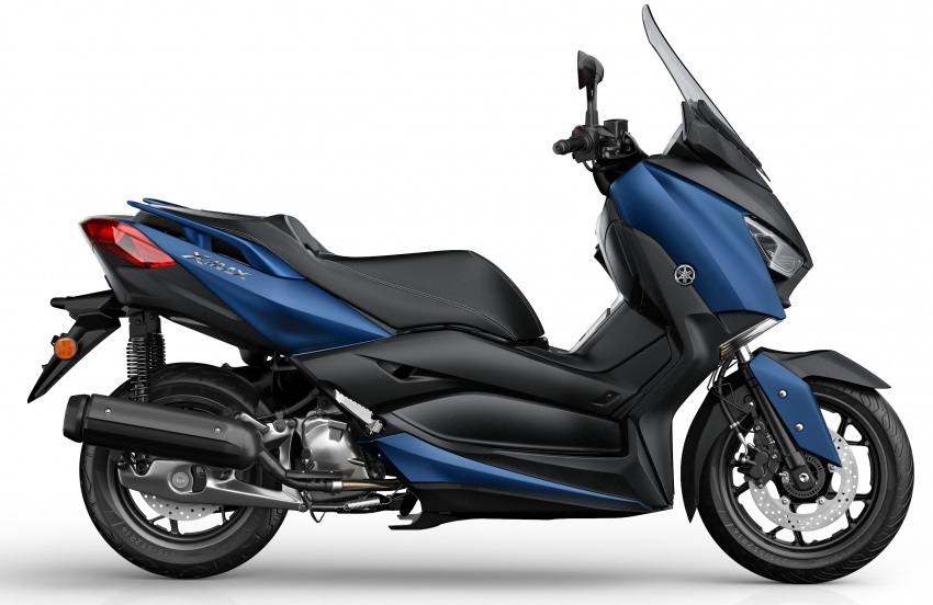 2018 Yamaha X-Max 125 scooter released in Europe Image #709929