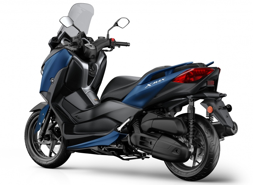 2018 Yamaha X-Max 125 scooter released in Europe Image #709930