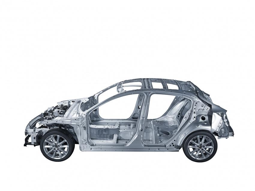 Mazda releases more details of new SkyActiv-X engine with compression ignition, next-gen Mazda 3 platform Image #707107