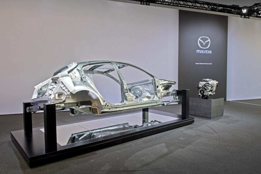 Mazda releases more details of new SkyActiv-X engine with compression ignition, next-gen Mazda 3 platform Image #707114