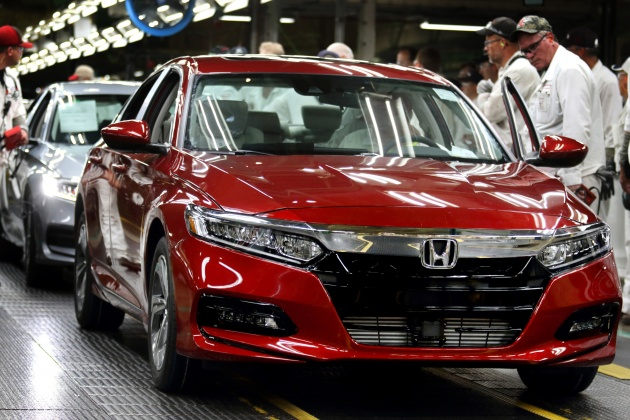 2018 honda accord hybrid. Interesting Accord Honda Of America Manufacturing HAM Has Celebrated The Start Mass  Production Allnew 2018 Accord A Nameplate That Been Sold In  With Honda Accord Hybrid