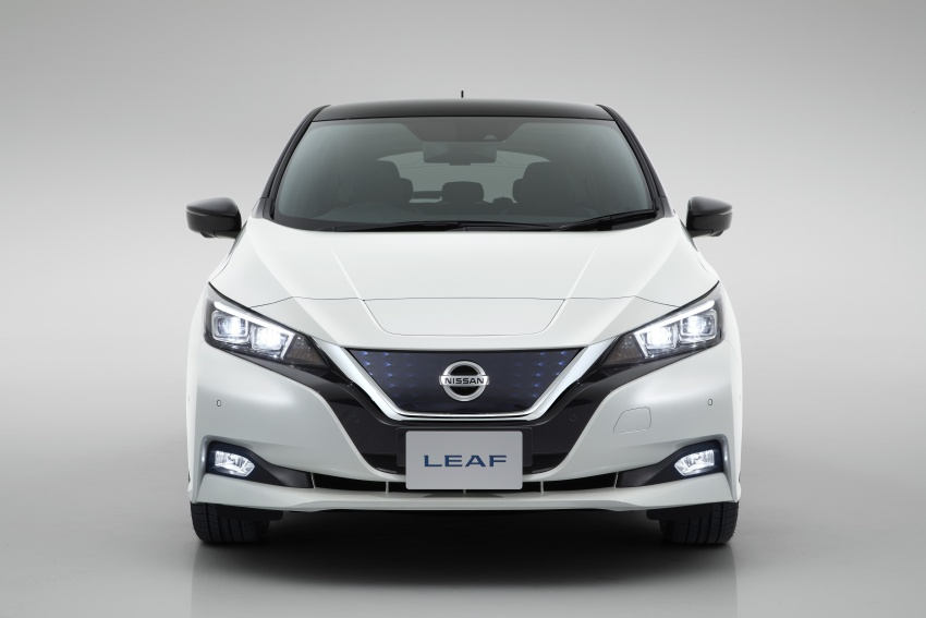 Nissan Leaf 2018 punya lebih teknologi dan bergaya Image #706425
