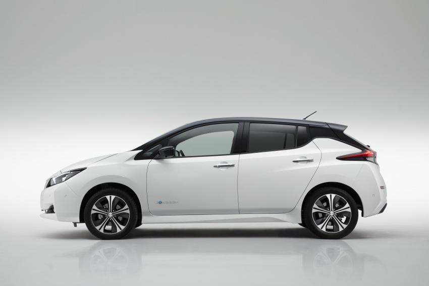 Nissan Leaf 2018 punya lebih teknologi dan bergaya Image #706427