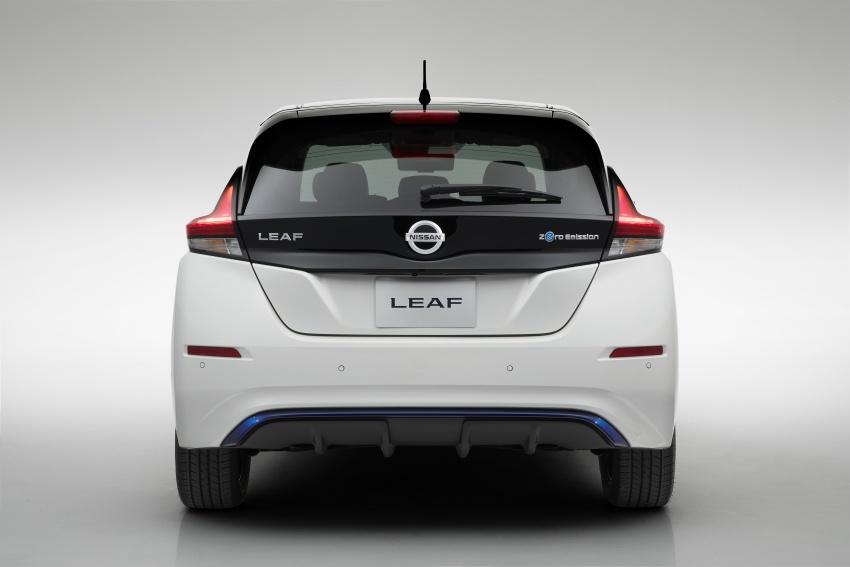 Nissan Leaf 2018 punya lebih teknologi dan bergaya Image #706429