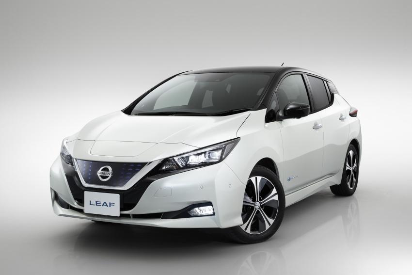 Nissan Leaf 2018 punya lebih teknologi dan bergaya Image #706430