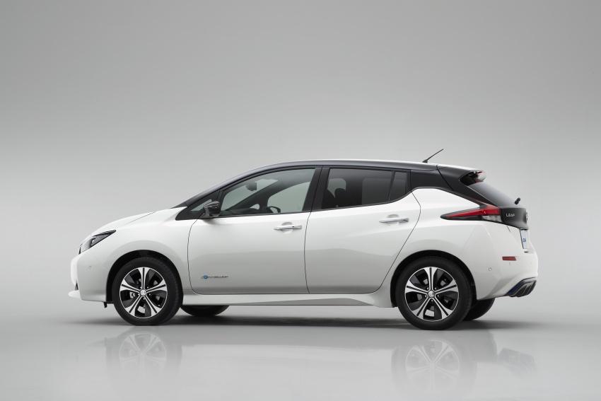 Nissan Leaf 2018 punya lebih teknologi dan bergaya Image #706431