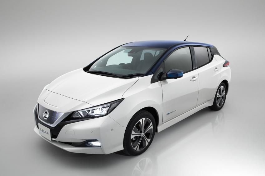 Nissan Leaf 2018 punya lebih teknologi dan bergaya Image #706432