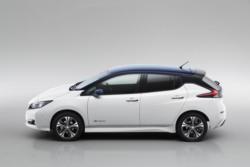 Nissan Leaf 2018 punya lebih teknologi dan bergaya Image #706434