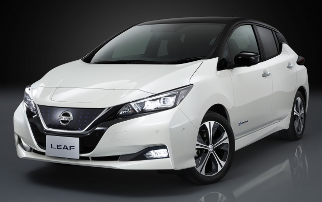 new nissan leaf confirmed for 2018 malaysian launch. Black Bedroom Furniture Sets. Home Design Ideas