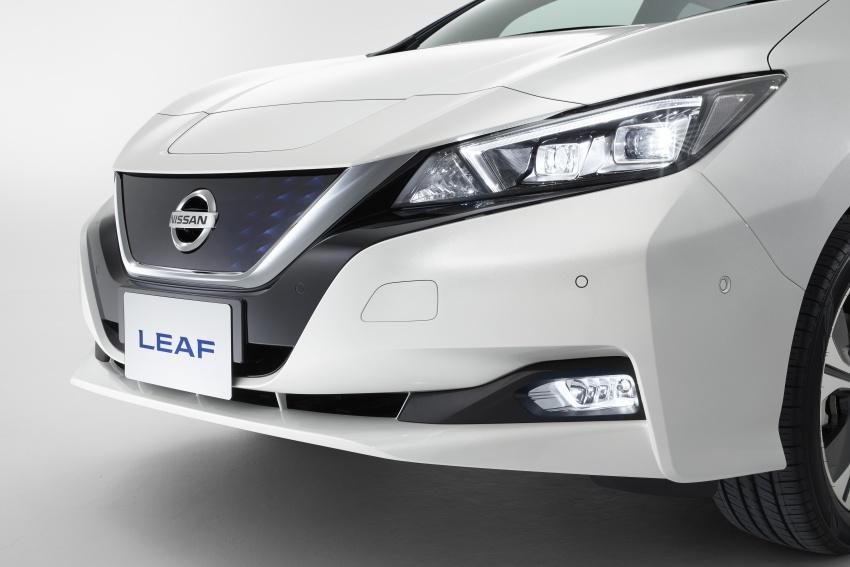 Nissan Leaf 2018 punya lebih teknologi dan bergaya Image #706444