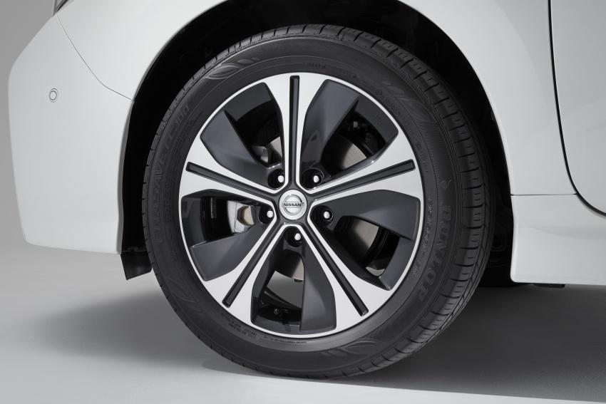 Nissan Leaf 2018 punya lebih teknologi dan bergaya Image #706447