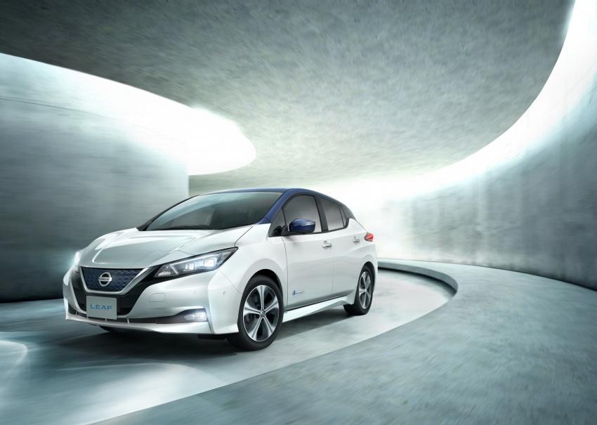 Nissan Leaf 2018 punya lebih teknologi dan bergaya Image #706448