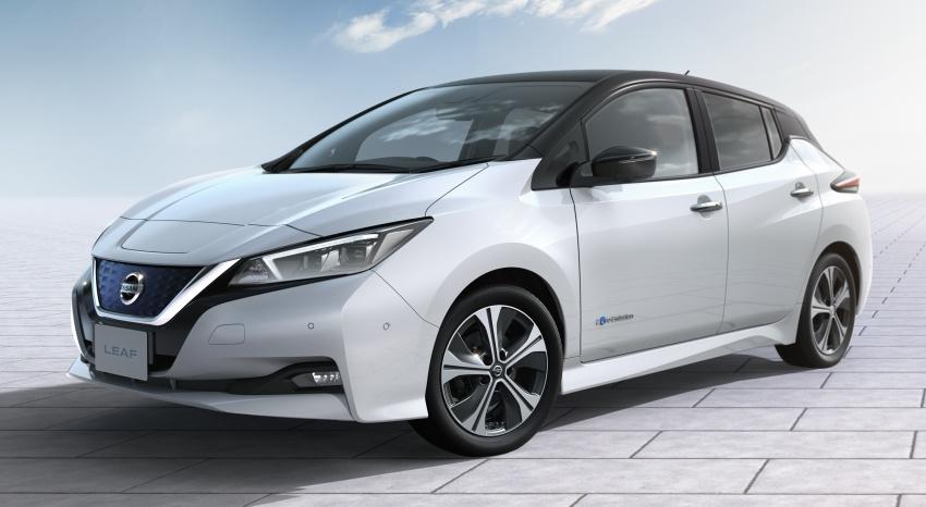 Nissan Leaf 2018 punya lebih teknologi dan bergaya Image #706449