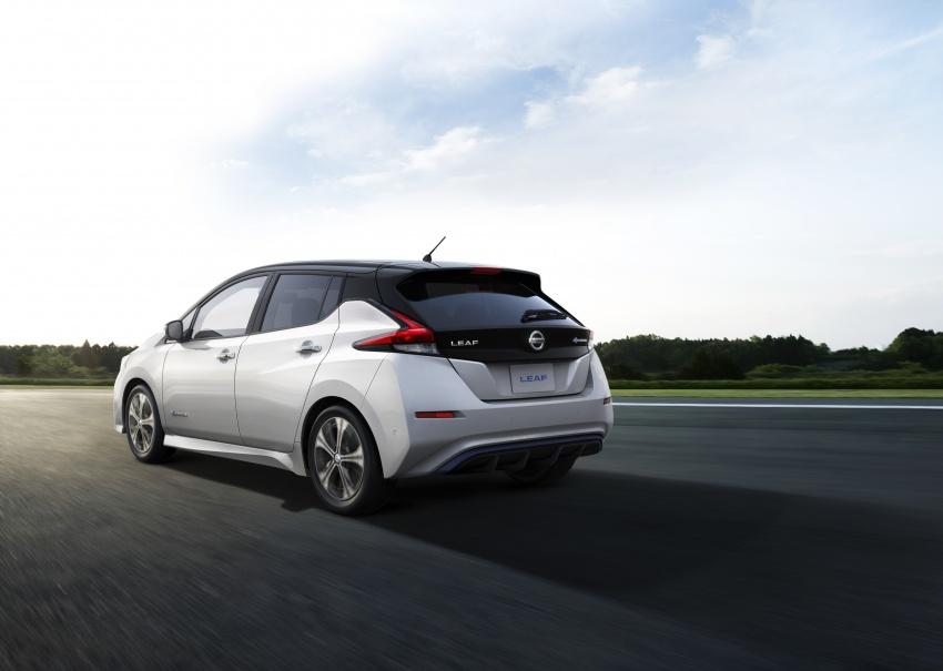Nissan Leaf 2018 punya lebih teknologi dan bergaya Image #706450