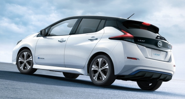 2018 nissan ev. plain nissan evs are quiet things but the lack of an engine makes wind noise obvious  nissan says that aerodynamic upgrades reduced drag and zero lift  intended 2018 nissan ev l