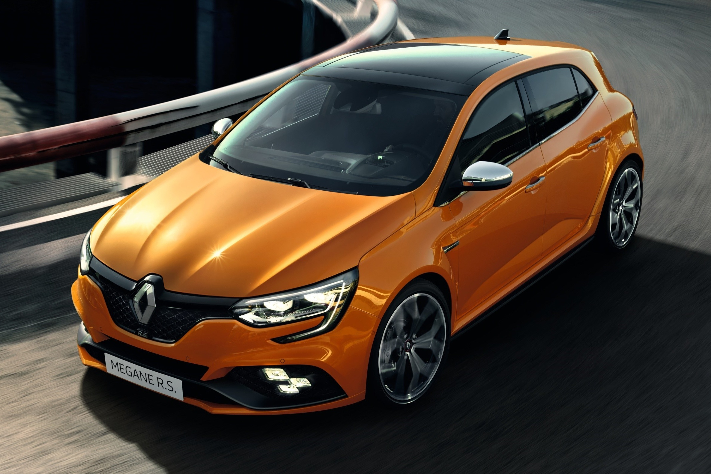 new renault megane rs debuts 280 hp four wheel steering choice of six speed manual or dual. Black Bedroom Furniture Sets. Home Design Ideas