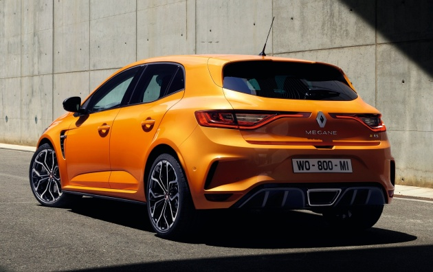 As Is Usual For A Renault Sport Product, The New Megane RS Comes With  Either The Standard Sport Suspension Or A More Track Focused Cup Chassis,  ...