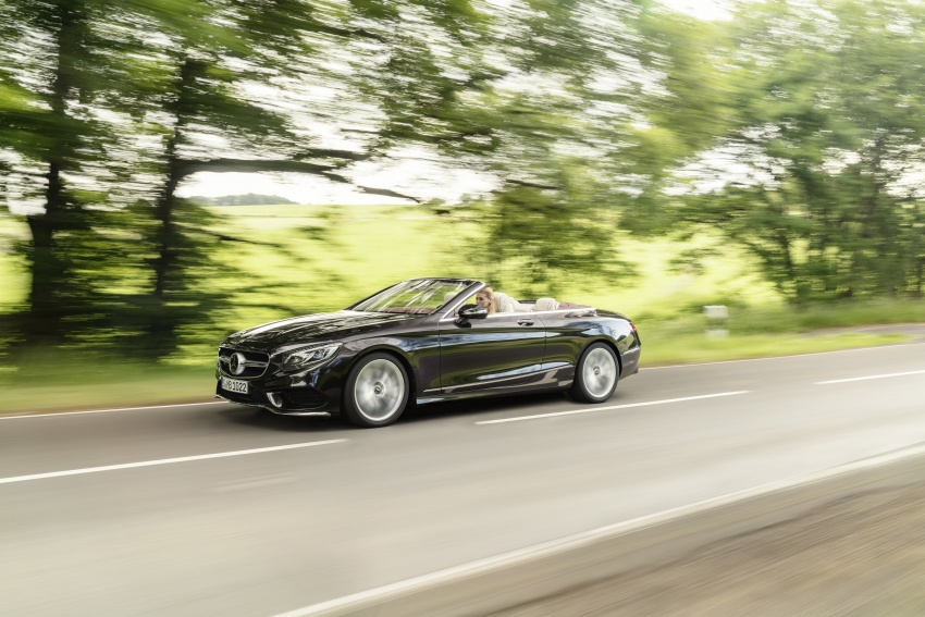 Mercedes-Benz S-Class Coupe C217 dan S-Class Cabriolet A217 facelift didedah, termasuk versi AMG Image #705584