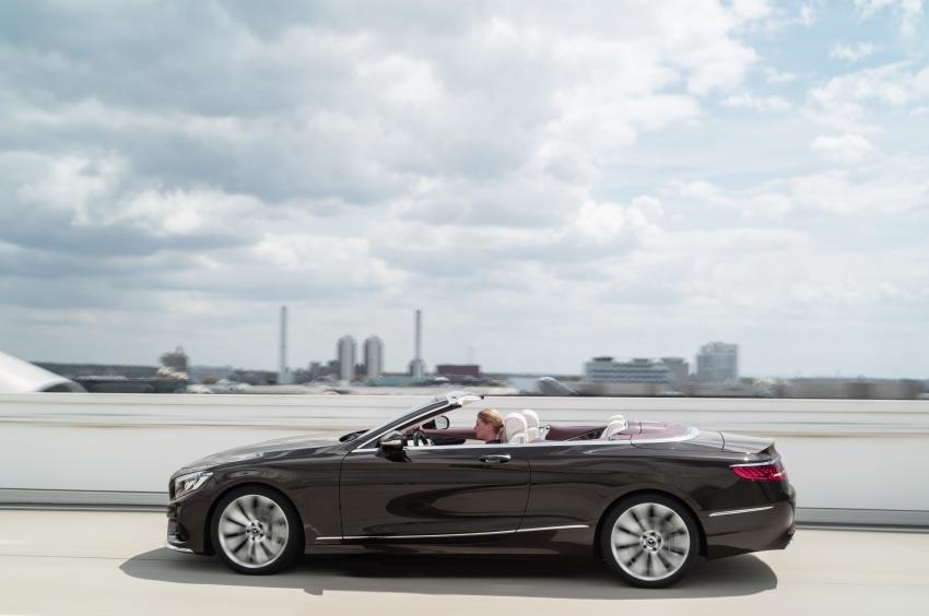 Mercedes-Benz S-Class Coupe C217 dan S-Class Cabriolet A217 facelift didedah, termasuk versi AMG Image #705598
