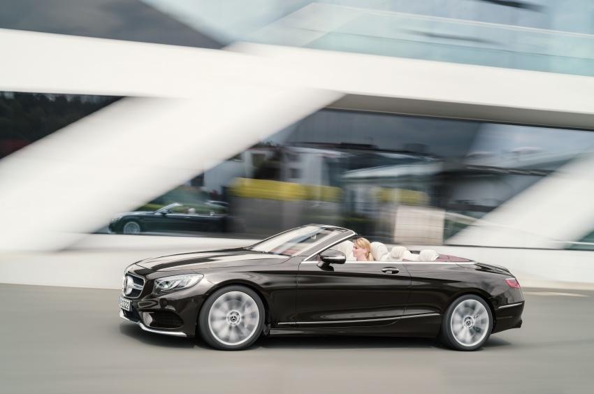 Mercedes-Benz S-Class Coupe C217 dan S-Class Cabriolet A217 facelift didedah, termasuk versi AMG Image #705599
