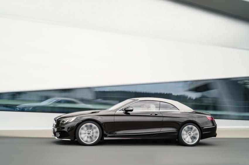 Mercedes-Benz S-Class Coupe C217 dan S-Class Cabriolet A217 facelift didedah, termasuk versi AMG Image #705600