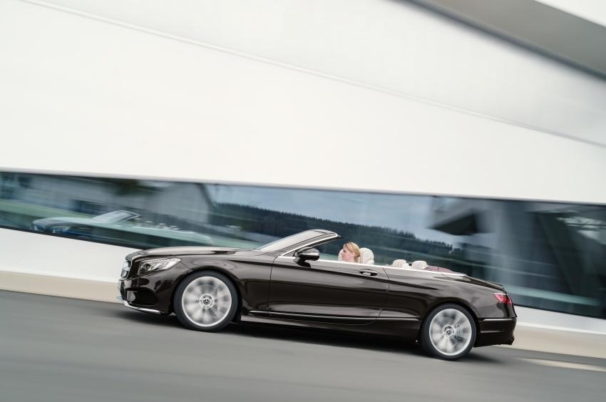 Mercedes-Benz S-Class Coupe C217 dan S-Class Cabriolet A217 facelift didedah, termasuk versi AMG Image #705601
