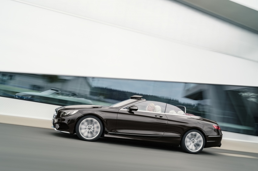 Mercedes-Benz S-Class Coupe C217 dan S-Class Cabriolet A217 facelift didedah, termasuk versi AMG Image #705602