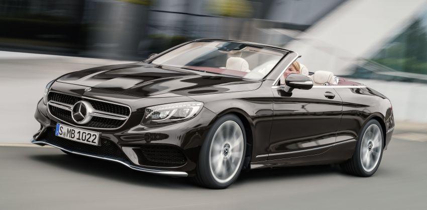 Mercedes-Benz S-Class Coupe C217 dan S-Class Cabriolet A217 facelift didedah, termasuk versi AMG Image #705603