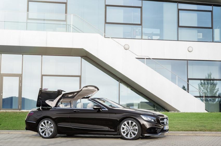 Mercedes-Benz S-Class Coupe C217 dan S-Class Cabriolet A217 facelift didedah, termasuk versi AMG Image #705605