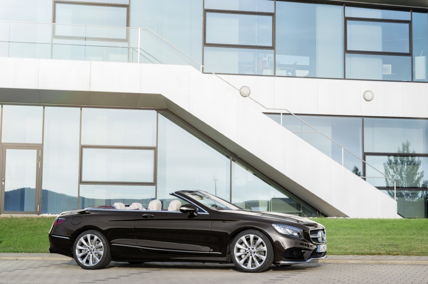 Mercedes-Benz S-Class Coupe C217 dan S-Class Cabriolet A217 facelift didedah, termasuk versi AMG Image #705606
