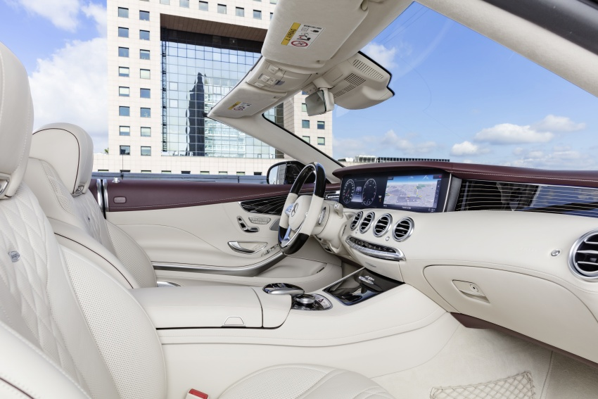 Mercedes-Benz S-Class Coupe C217 dan S-Class Cabriolet A217 facelift didedah, termasuk versi AMG Image #705609