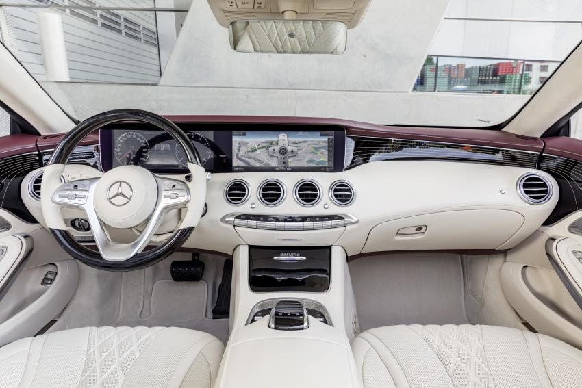 Mercedes-Benz S-Class Coupe C217 dan S-Class Cabriolet A217 facelift didedah, termasuk versi AMG Image #705610