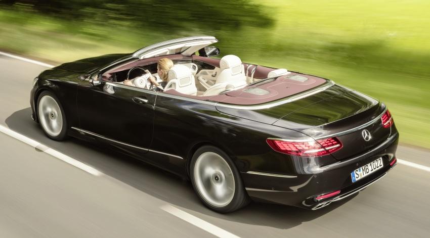 Mercedes-Benz S-Class Coupe C217 dan S-Class Cabriolet A217 facelift didedah, termasuk versi AMG Image #705592