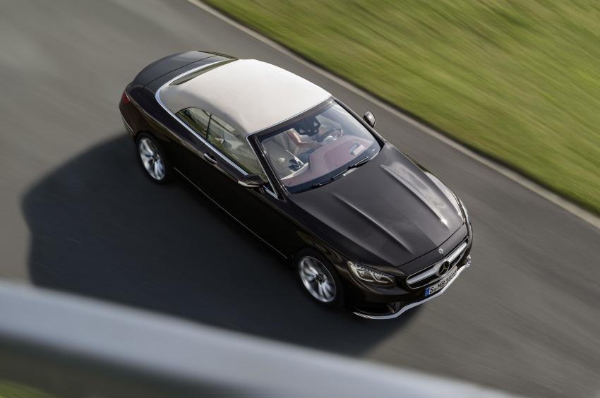 Mercedes-Benz S-Class Coupe C217 dan S-Class Cabriolet A217 facelift didedah, termasuk versi AMG Image #705594