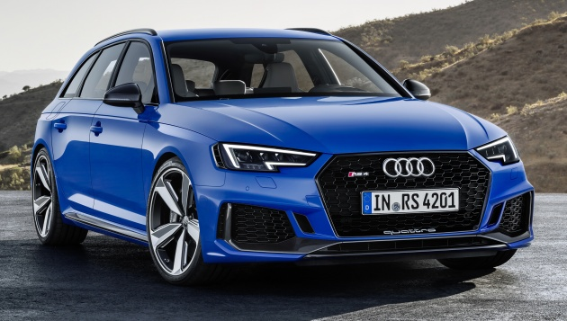 2018 Audi Rs4 Avant Revealed With 450 Hp 29 Litre V6