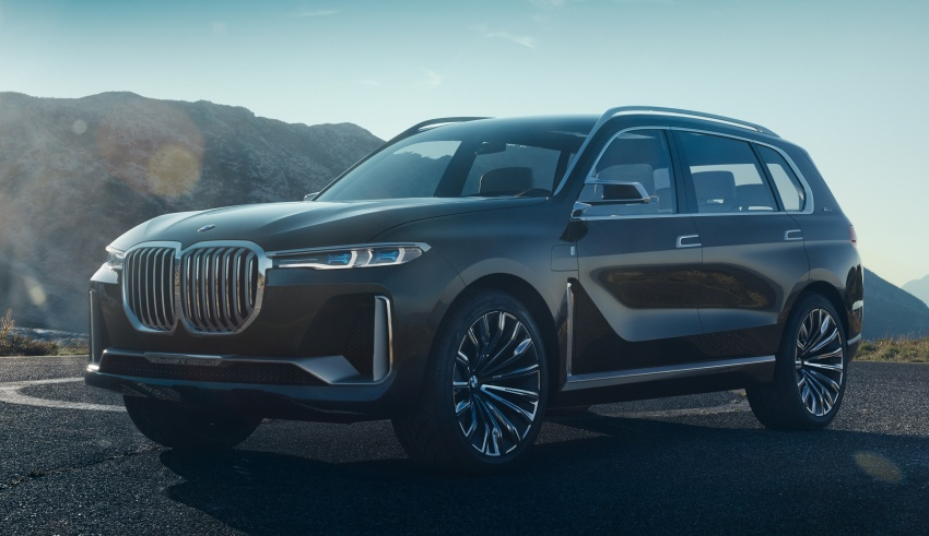 BMW Concept X7 iPerformance previews flagship SUV – production plug-in hybrid X7 to debut in 2018 Image #707734