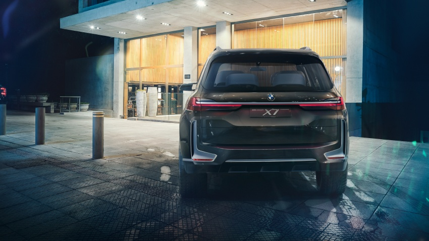 BMW Concept X7 iPerformance previews flagship SUV – production plug-in hybrid X7 to debut in 2018 Image #707743