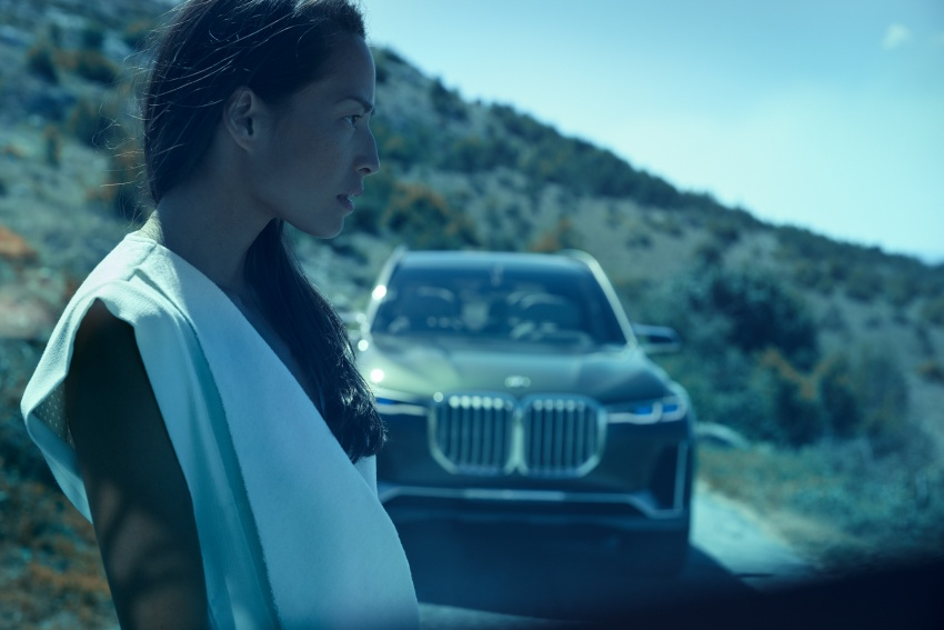 BMW Concept X7 iPerformance previews flagship SUV – production plug-in hybrid X7 to debut in 2018 Image #707744