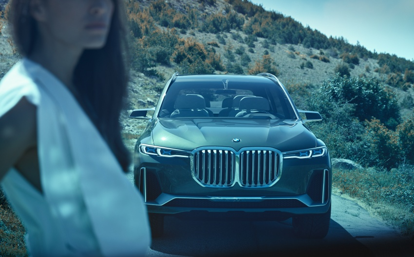BMW Concept X7 iPerformance previews flagship SUV – production plug-in hybrid X7 to debut in 2018 Image #707745