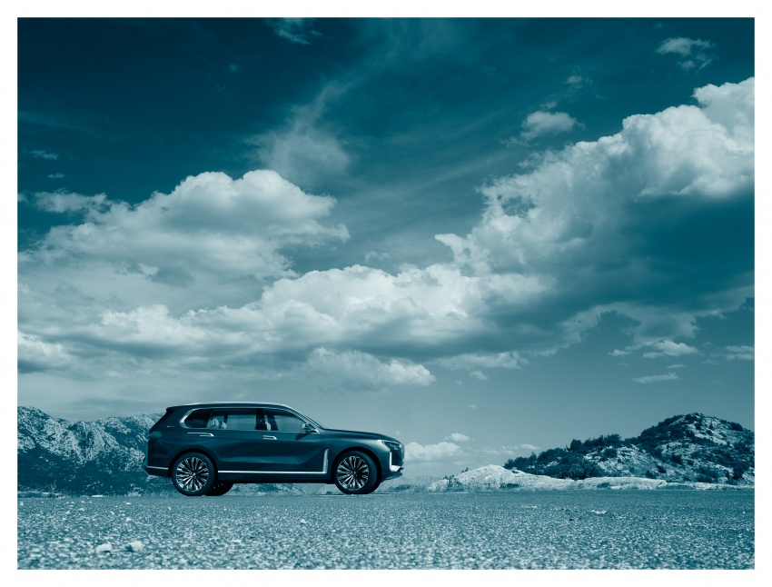 BMW Concept X7 iPerformance previews flagship SUV – production plug-in hybrid X7 to debut in 2018 Image #707750