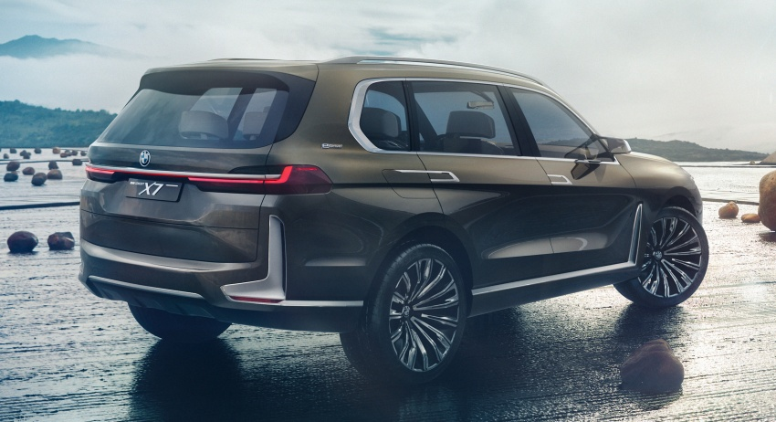 BMW Concept X7 iPerformance previews flagship SUV – production plug-in hybrid X7 to debut in 2018 Image #707735