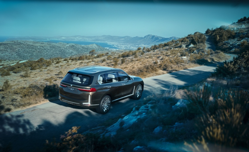 BMW Concept X7 iPerformance previews flagship SUV – production plug-in hybrid X7 to debut in 2018 Image #707738