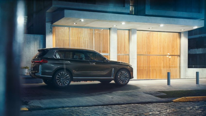 BMW Concept X7 iPerformance previews flagship SUV – production plug-in hybrid X7 to debut in 2018 Image #707739