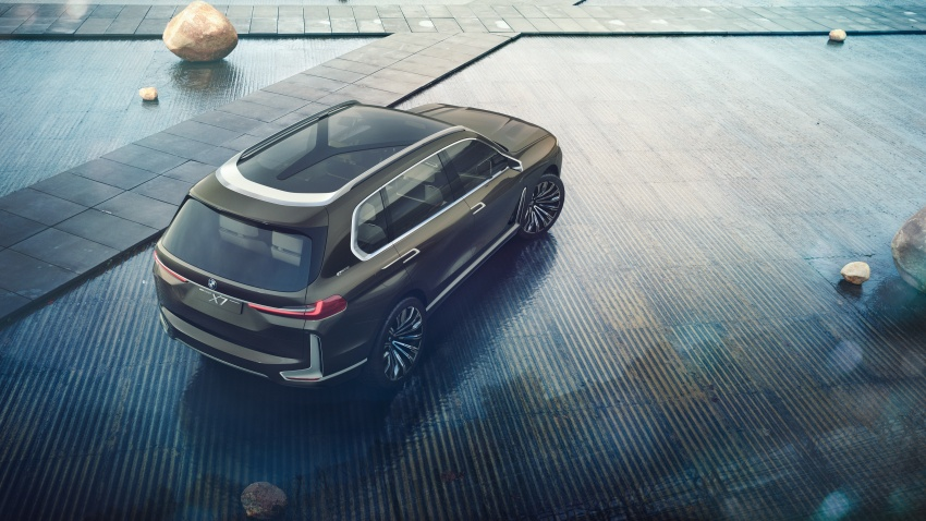 BMW Concept X7 iPerformance previews flagship SUV – production plug-in hybrid X7 to debut in 2018 Image #707740