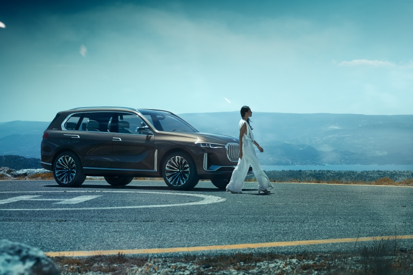 BMW Concept X7 iPerformance previews flagship SUV – production plug-in hybrid X7 to debut in 2018 Image #707741